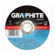 Tisztítókorong GRAPHITE 57H714 115x6,4x22 fém