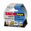 Ragasztószalag TackCeys 507605 10m/50mm fekete