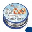 Forrasztóón + folyasztó CYNEL 44E745 2,5mm 100g+100g SnCu3