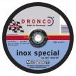 Vágókorong DRONCO Inox Special 150x1,6x22 INOX