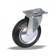 Kerék Önbeálló talpas fémházas 125mm (59319)